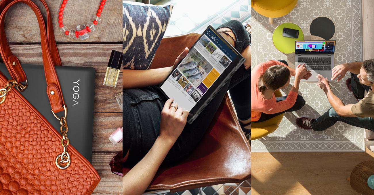 Lenovo Yoga 530 Niezwykła wydajność, Pracuj sprawniej