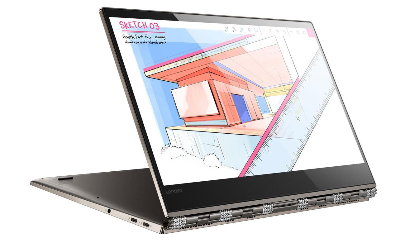 Lenovo Yoga 920 Dźwięk przestrzenny 360 stopni