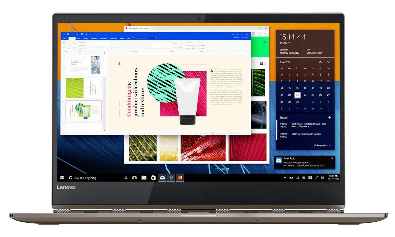 Lenovo Yoga 920 Najwyższej klasy czas odpowiedzi