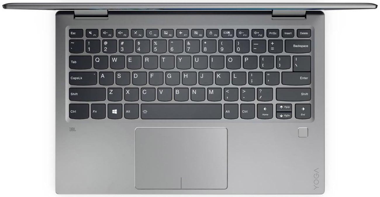 Lenovo YOGA 720 Czytnik linii papilarnych i Windows Hello