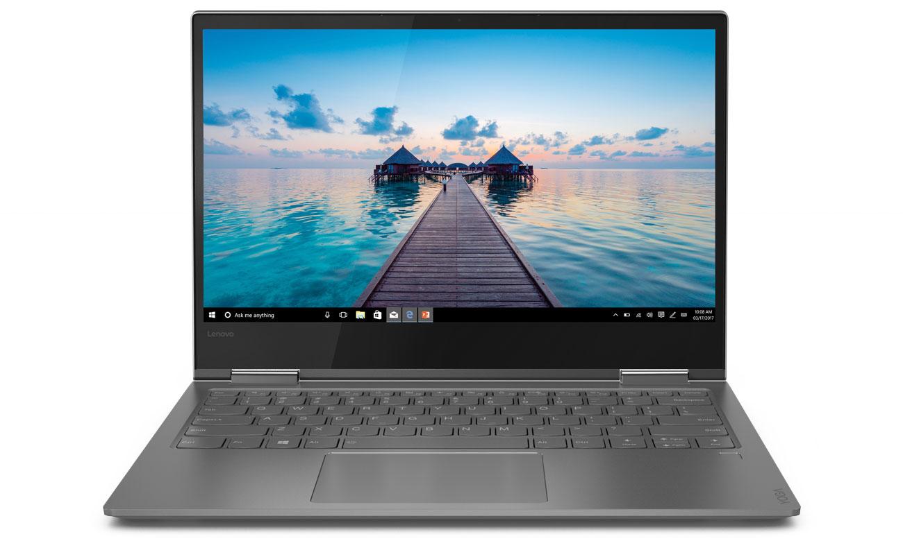 Lenovo Yoga 730 Ekran Full HD z wąskimi ramkami