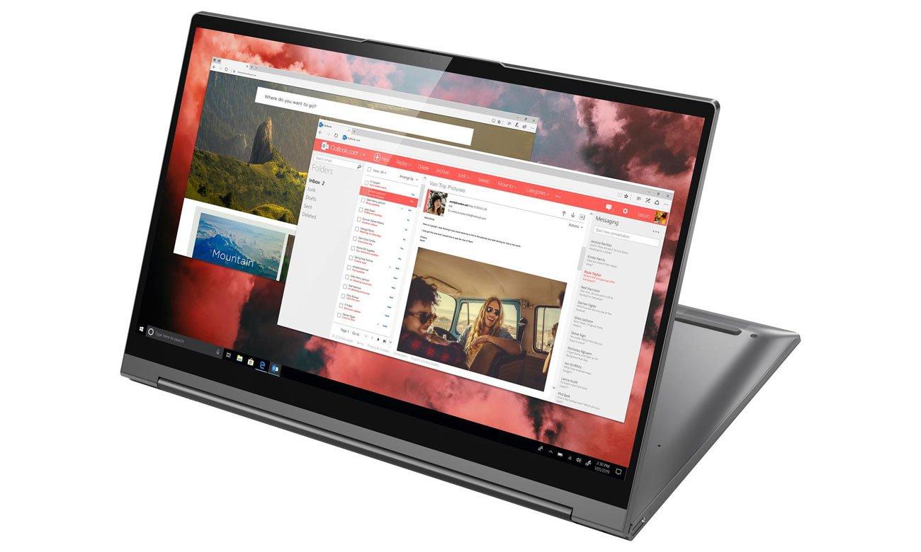 Laptop z funkcjami sztucznej inteligencji