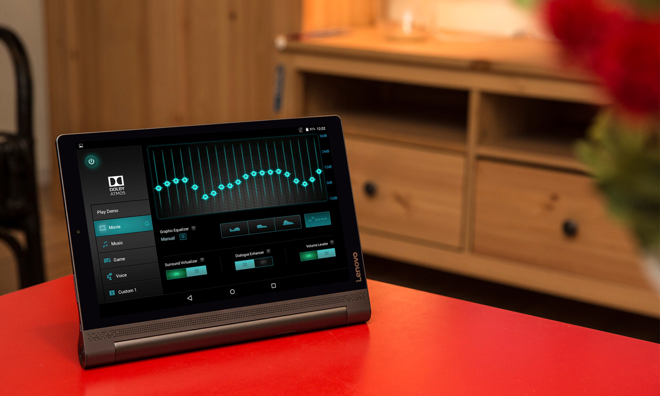 Lenovo Yoga Tablet 3 Pro głośniki JBL