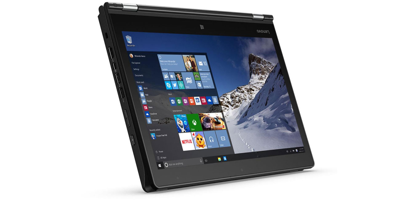 Laptop Lenovo Yoga 460 ultraprzenosne cienki lekki mobilny