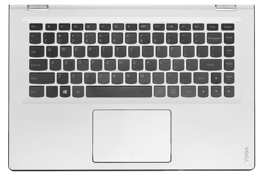 Lenovo Yoga 700 podświetlana klawiatura