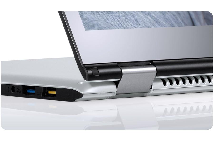 Lenovo Yoga 700 srebrny zawias