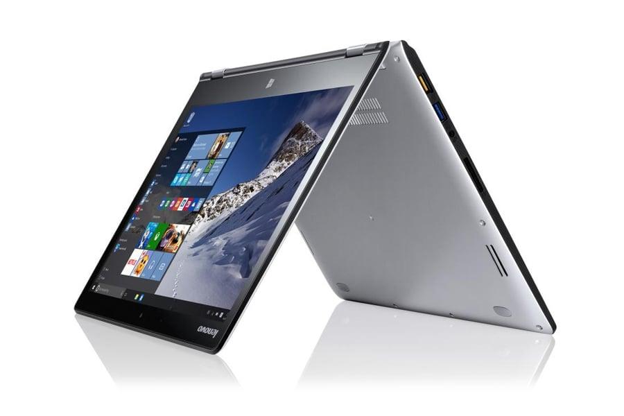 Lenovo Yoga 700 srebrny dotykowy ekran