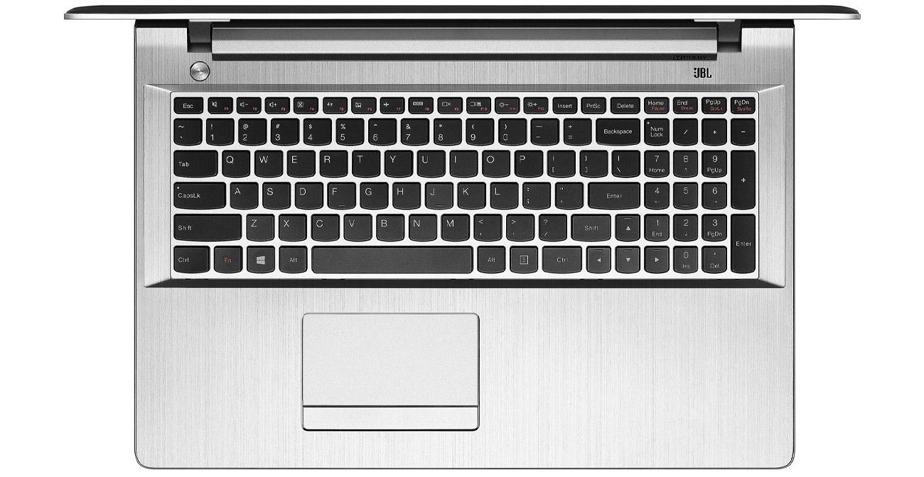 Lenovo Z51-70 podświetlana klawiatura