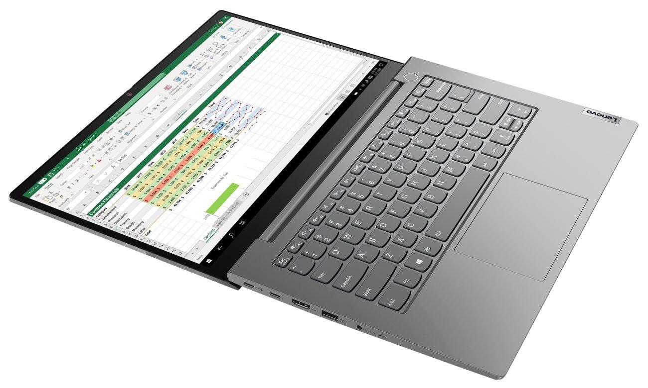 Lenovo ThinkBook 14 zawias 180 stopni
