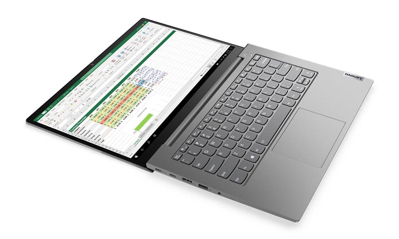 Lenovo ThinkBook 14 Gen 2 lekka konstrukcja