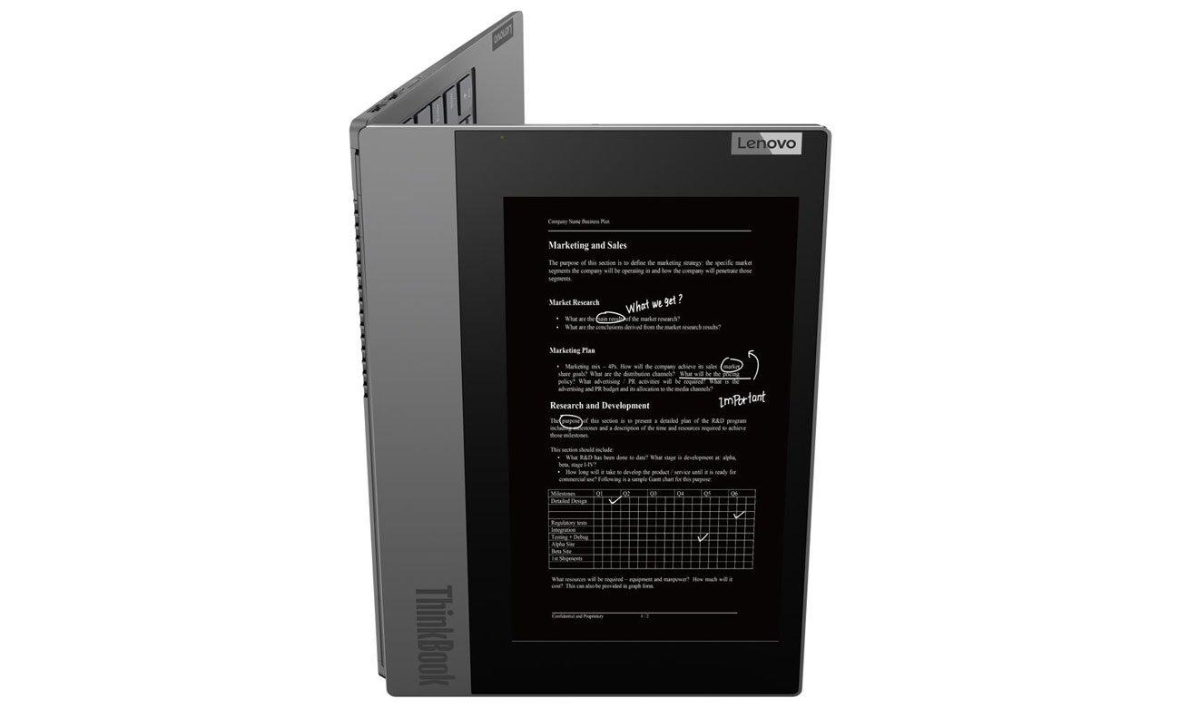 Lenovo ThinkBook Plus wiele trybów pracy