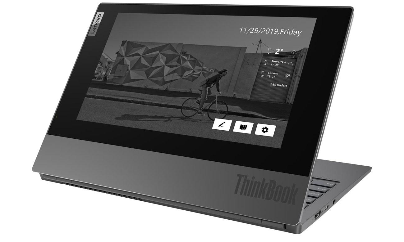 Lenovo ThinkBook Plus dodatkowy ekran