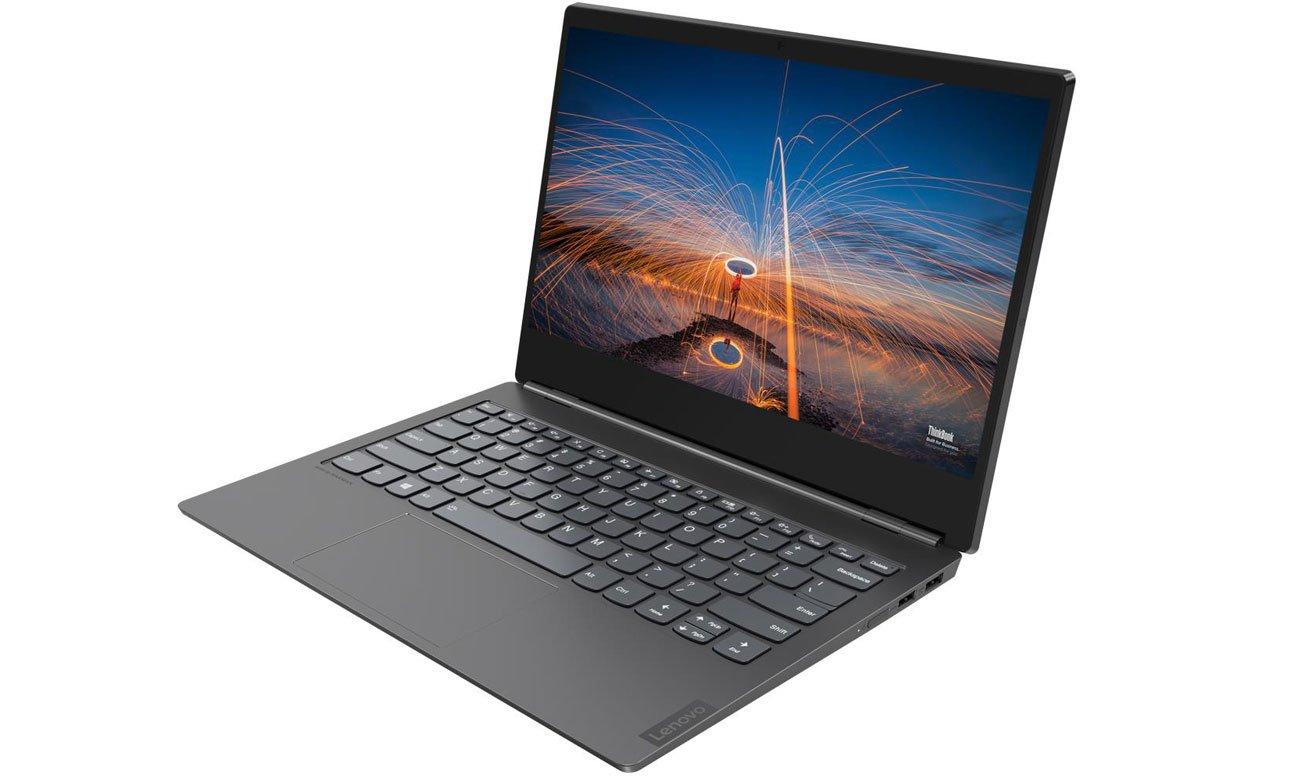 Lenovo ThinkBook Plus spersonalizowany ekran na pokrywie matrycy