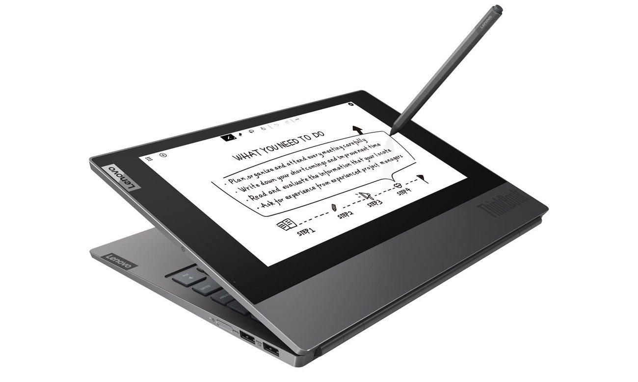 Lenovo ThinkBook Plus rysik do obsługi ekranu