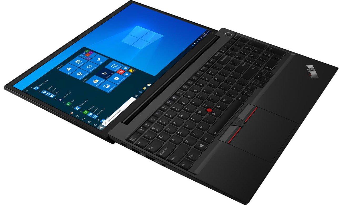 Lenovo ThinkPad E15 palmrest i ekran