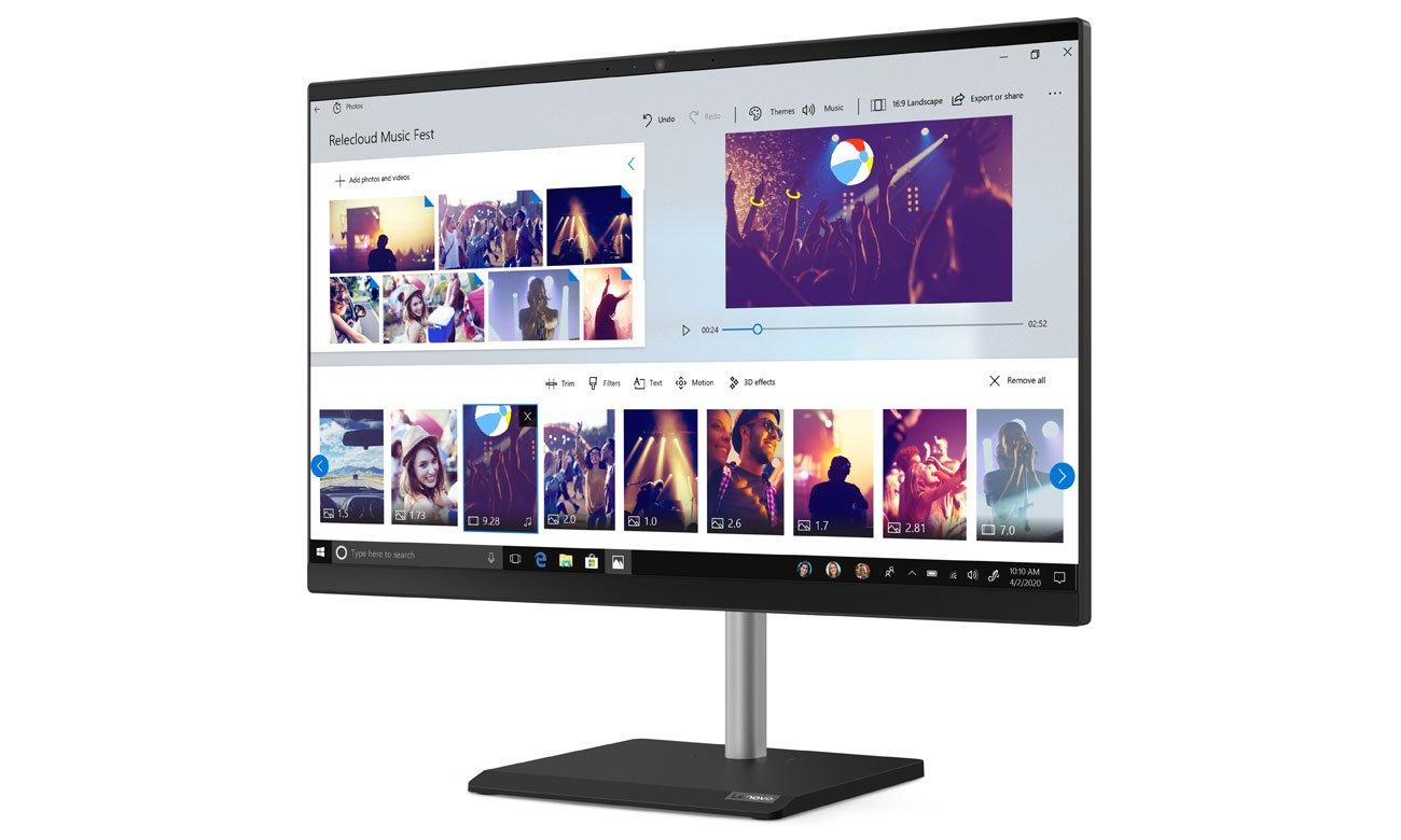 Lenovo V50a-24 ekran