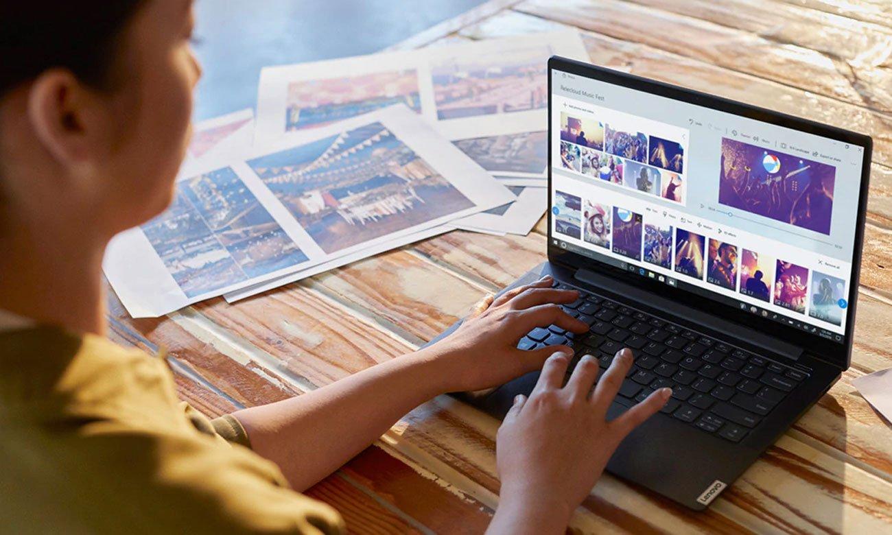 Laptop ultramobilny Lenovo Yoga S740-14