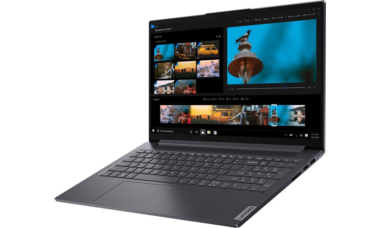 Lenovo Yoga Slim 7-15 wielozadaniowa praca