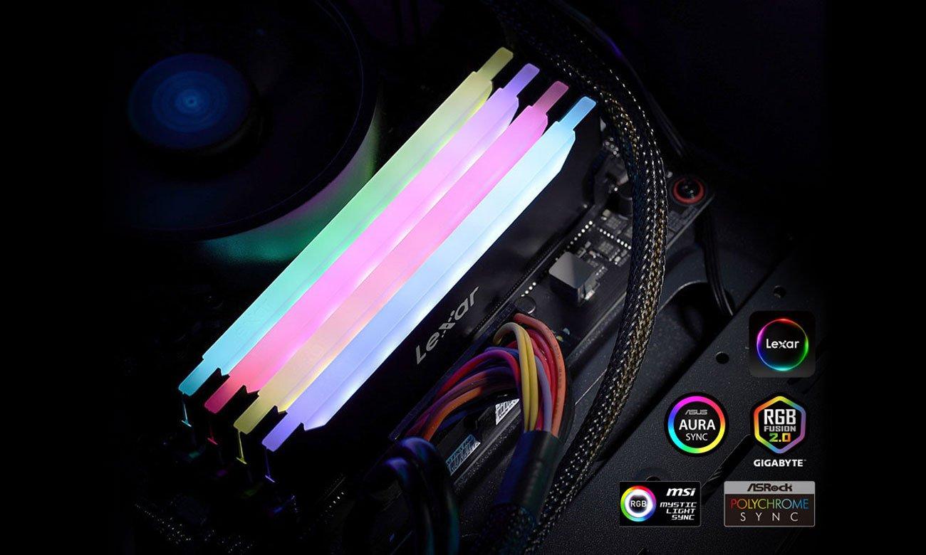 Lexar Hades RGB - Podświetlenie