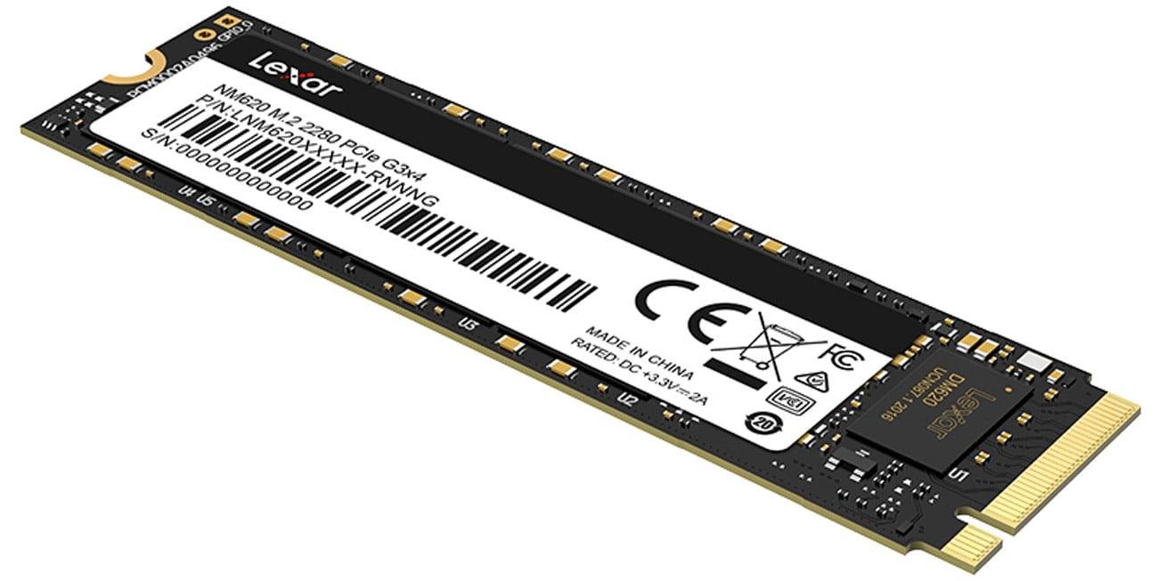 Dysk M.2 PCIe NVMe Lexar NM620 512 GB