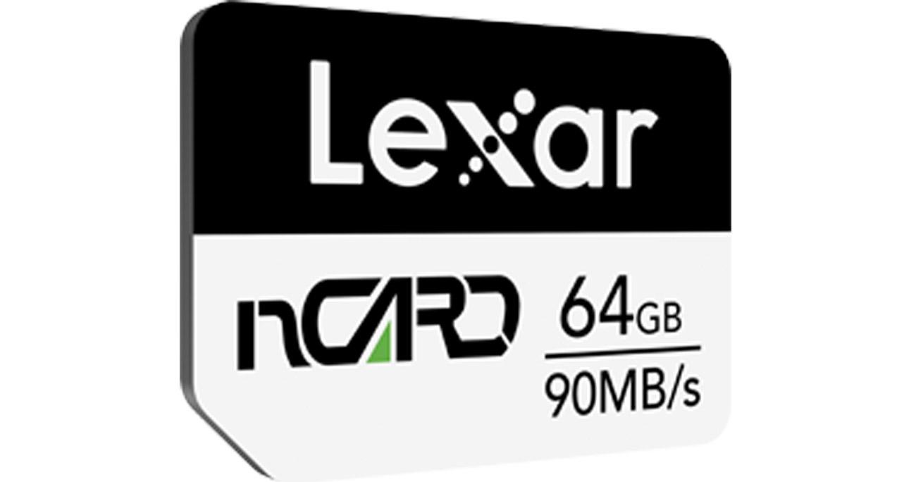 Karta pamięci Lexar nCARD NM dla telefonów Huawei 64 GB