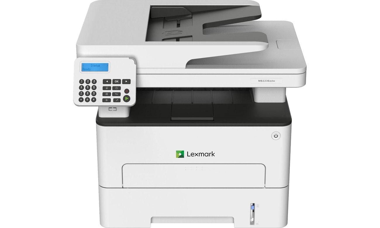 Lexmark MB2236adwe - Widok z przodu
