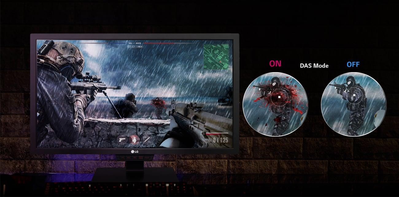 LG 24GM79G AMD FreeSync i Dynamic Action Sync