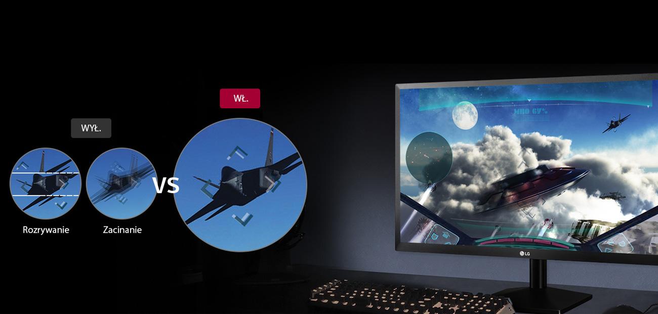 LG 24MK430H-B AMD FreeSync™