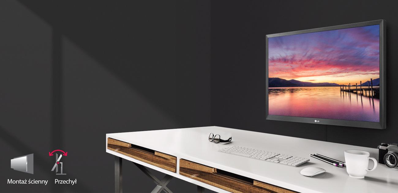 LG 24MK430H-B Standard VESA