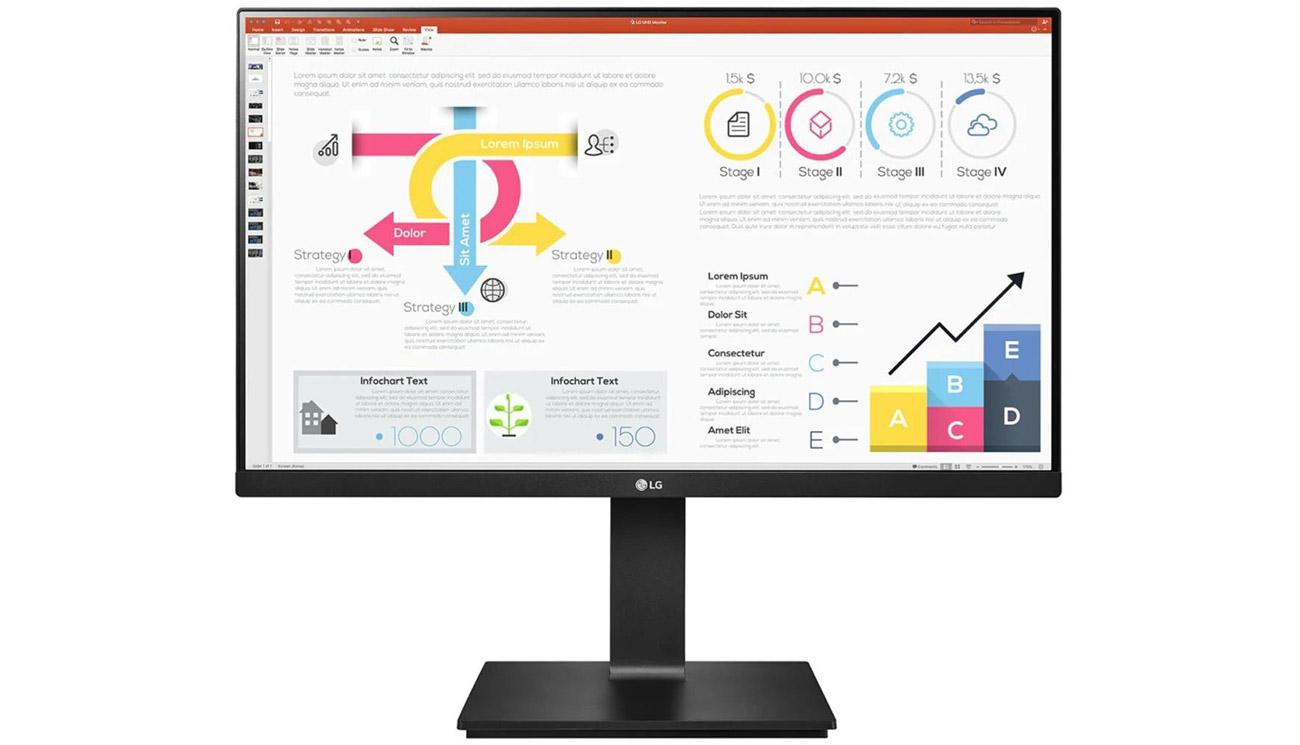 Monitor do zastosowań biznesowych LG 24QP750-B