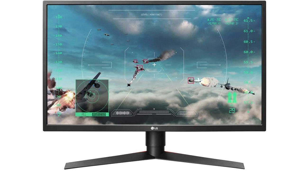 Monitor gamignowy LG 27GK750F-B do gier dla graczy