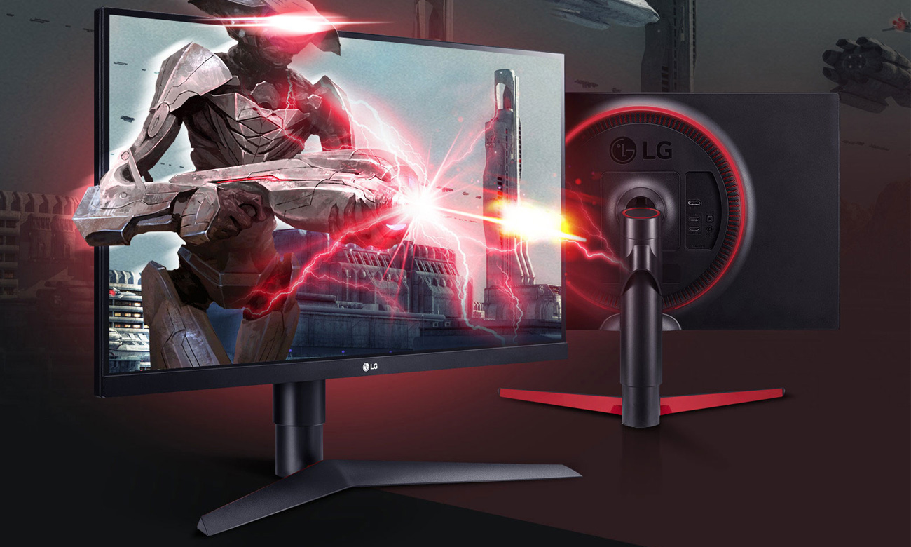Monitor dla graczy LG 27GL63T-B