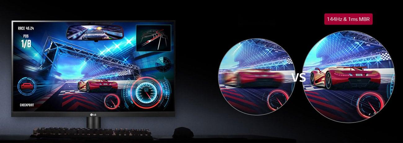 Monitor dla graczy LG 27GL650F-B