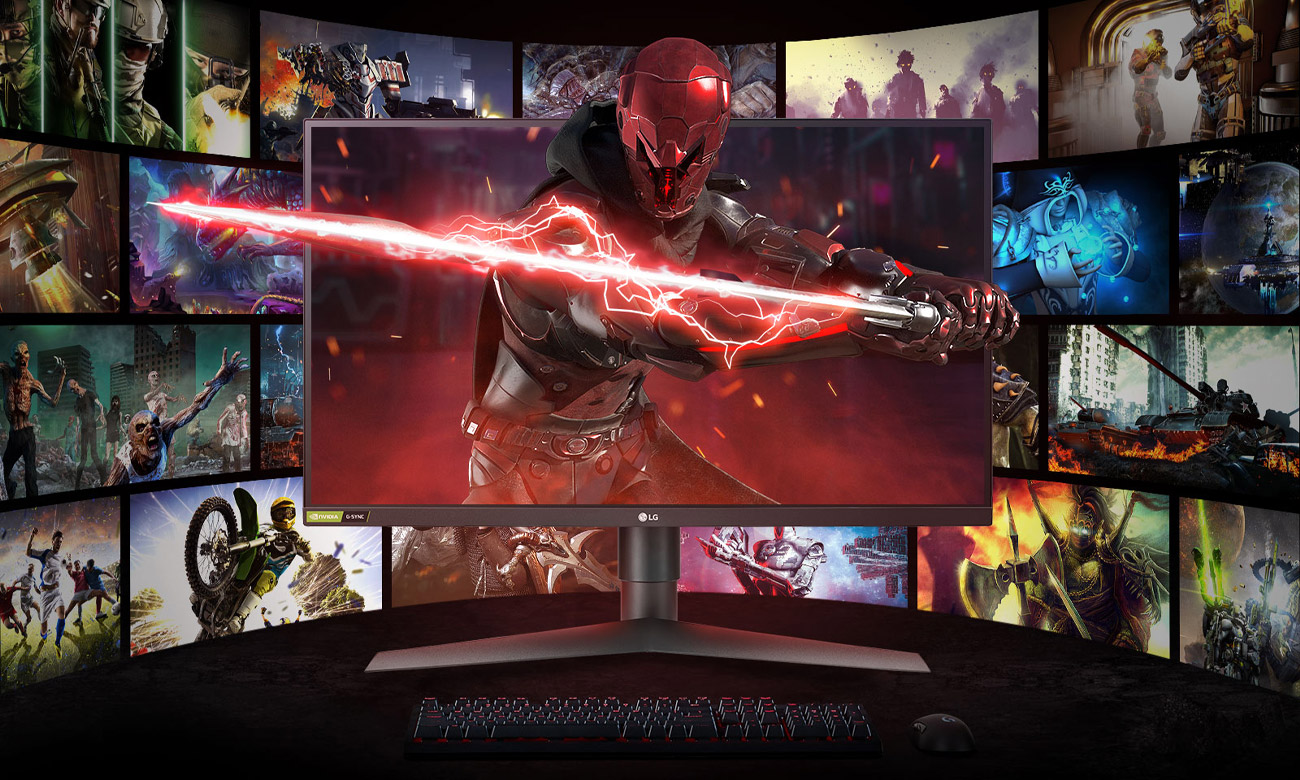 Monitor dla graczy LG 27GL850-B
