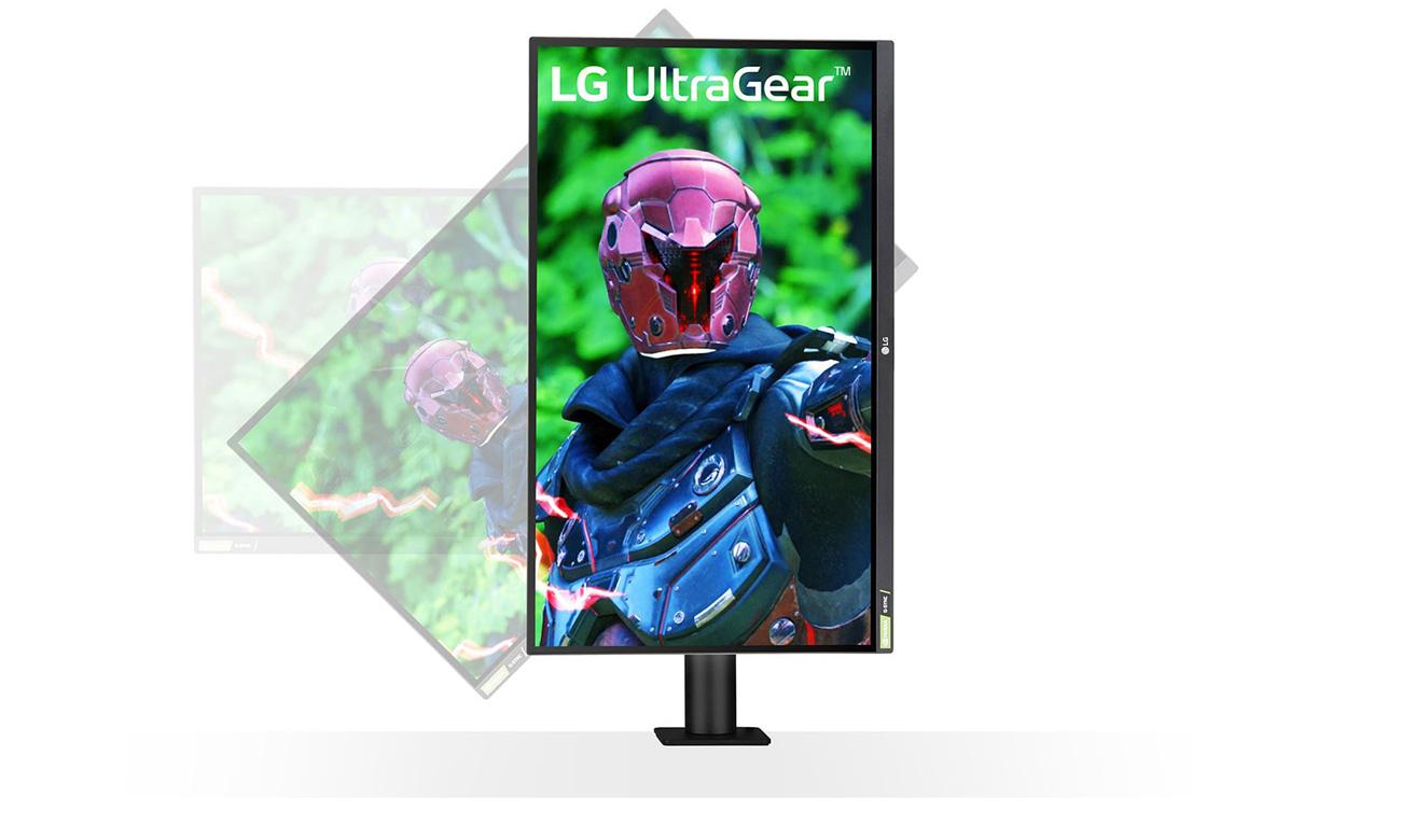 Monitor dla graczy LG 27GN880-B NanoIPS Ergo