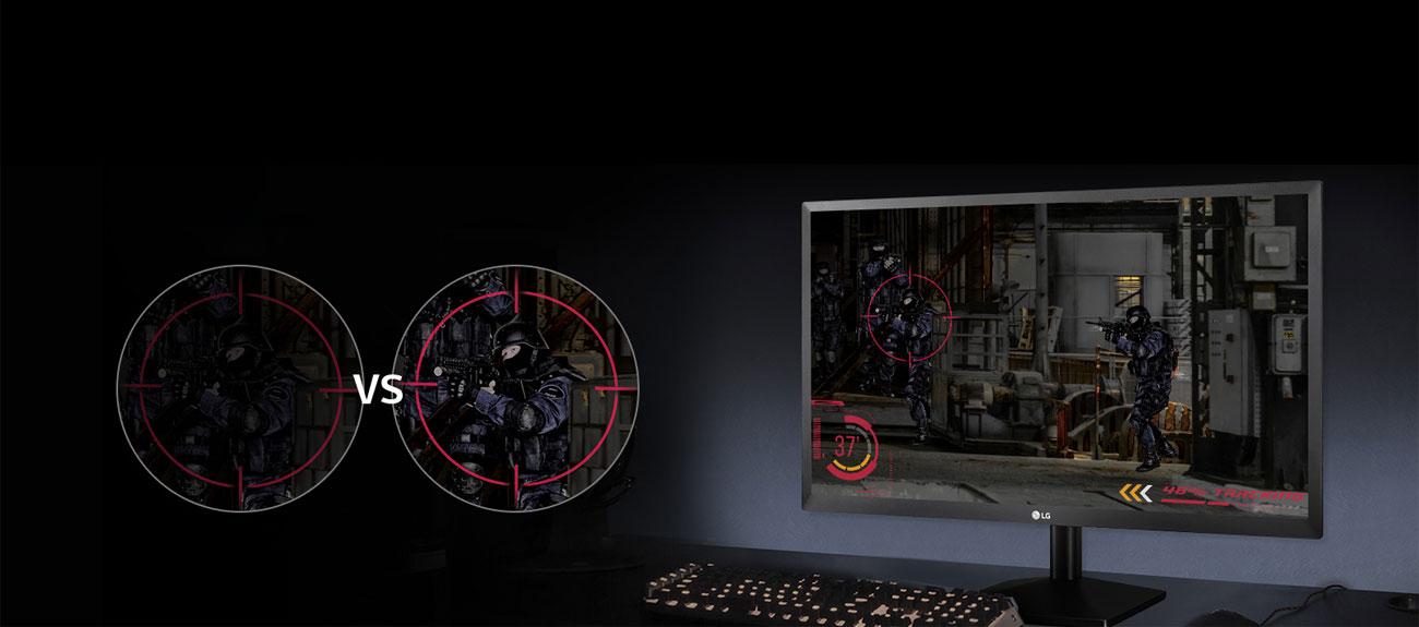 LG 27MK430H Funkcje dla graczy