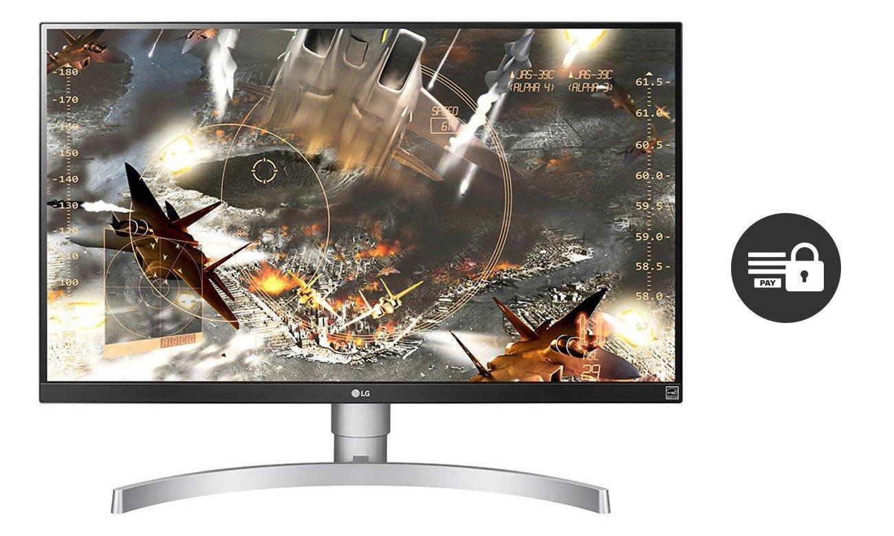 LG 27UK650 Zgodny z HDCP 2.2