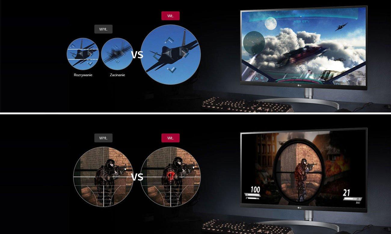Monitor gamingowy LG 27UL650-W