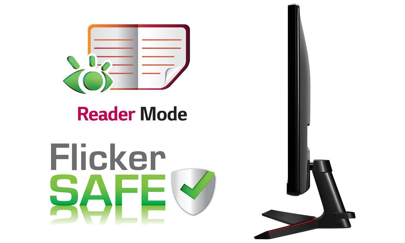 LG 29UM69G Reader Mode i Flicker Safe