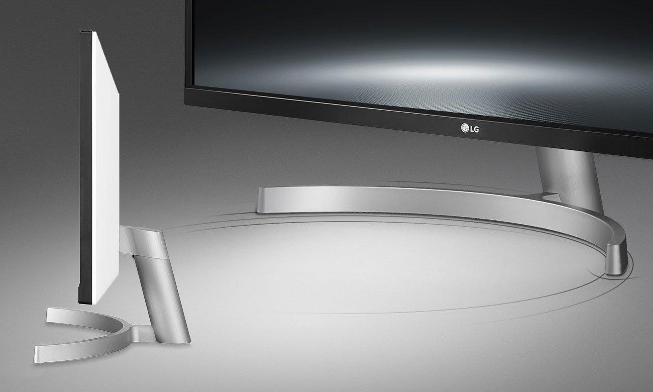 LG 29WK600 Wszechstronna elegancja Podstawka Edge-Arc