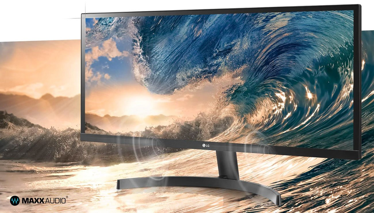 Wszechstronny monitor do domu i biura LG 34WL50S-B