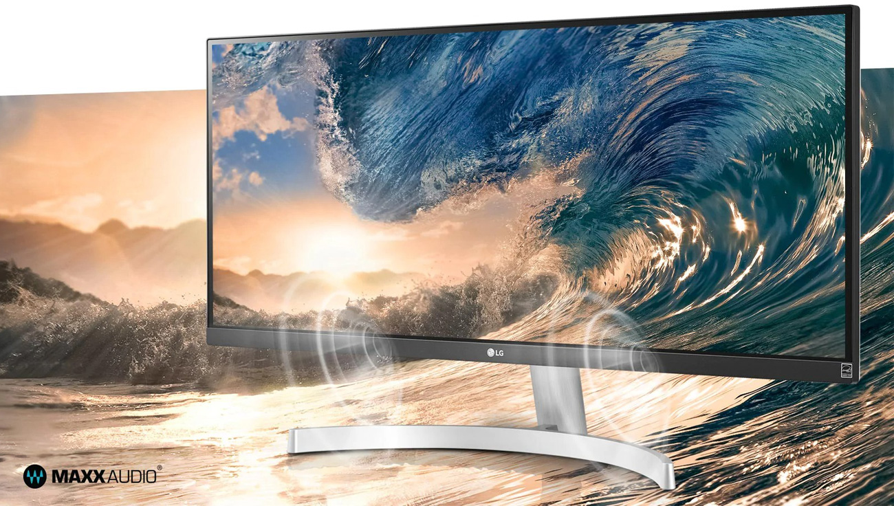 Monitor do domu i do biura LG 29WN600-W HDR