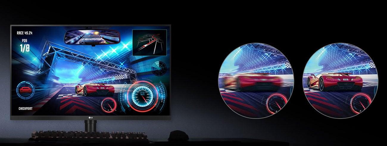 LG 32GK850F AMD FreeSync Odświeżanie 144Hz
