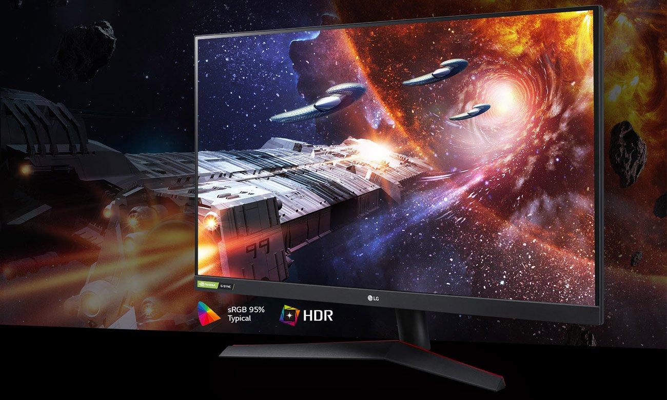 Monitor dla graczy LG 32GN550-B
