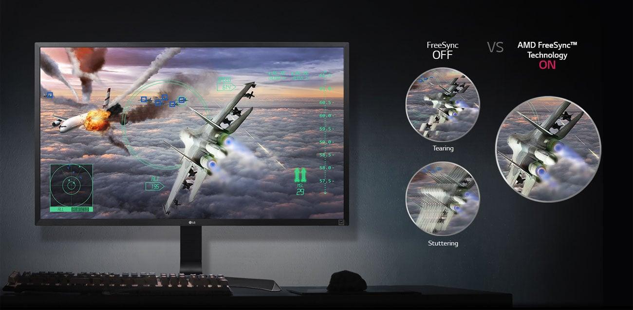 LG 32UD59-B AMD FreeSync Dynamic Action Sync