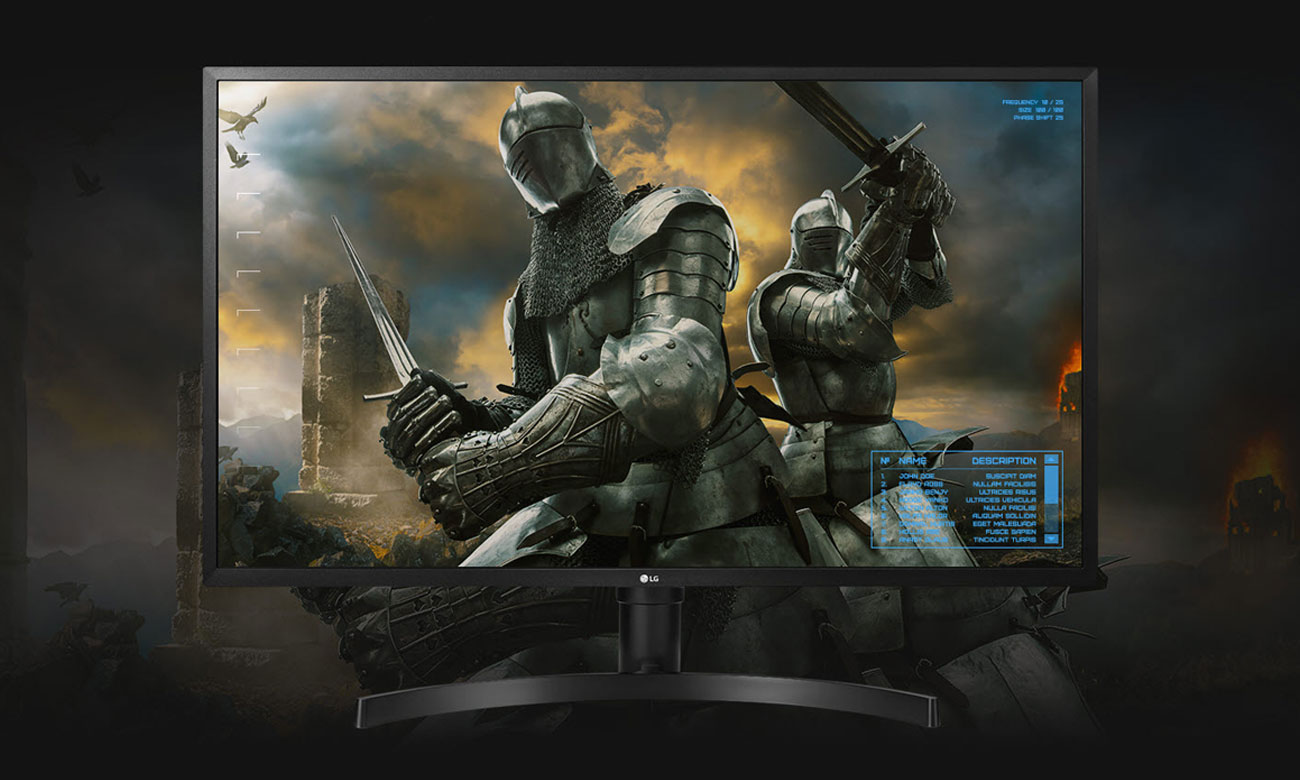 Monitor LG 32UK550-B Funkcje Dla Graczy