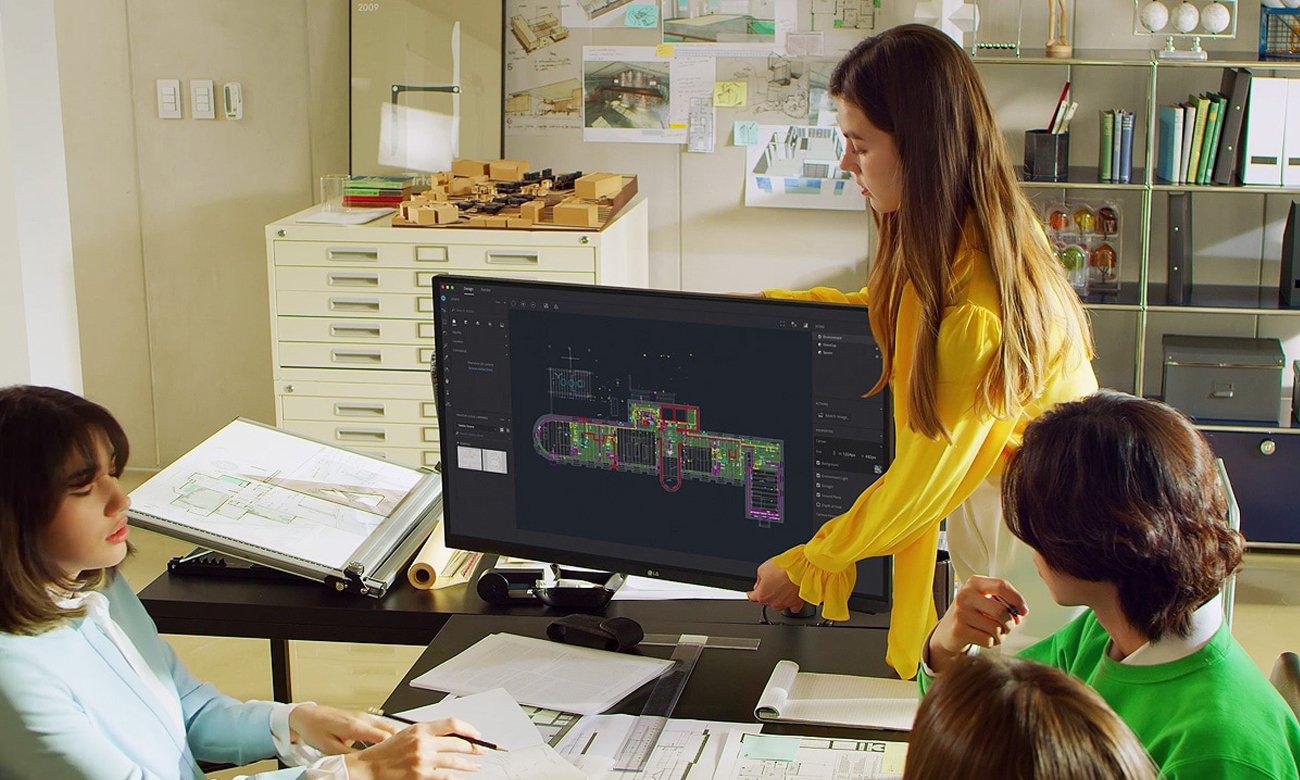 Monitor do grafiki i fotografii LG UltraFine 32UN880-B Ergo