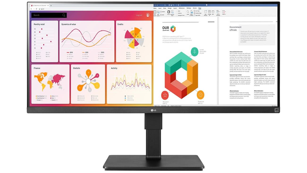 Monitor do domu i biura LG 34BN770-B