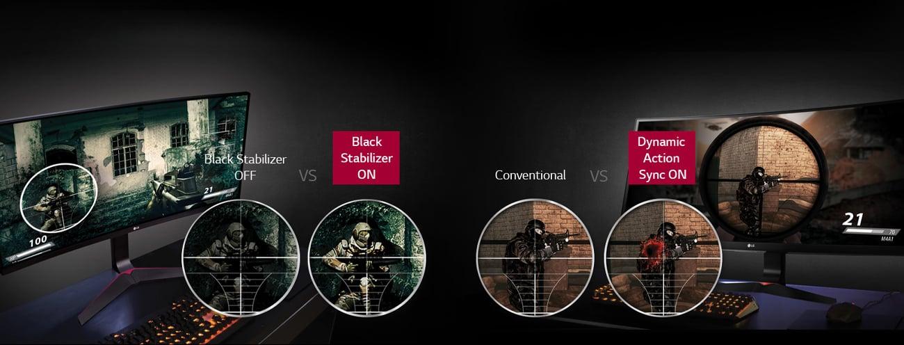 Black Stabilizer i Dynamic Action Sync