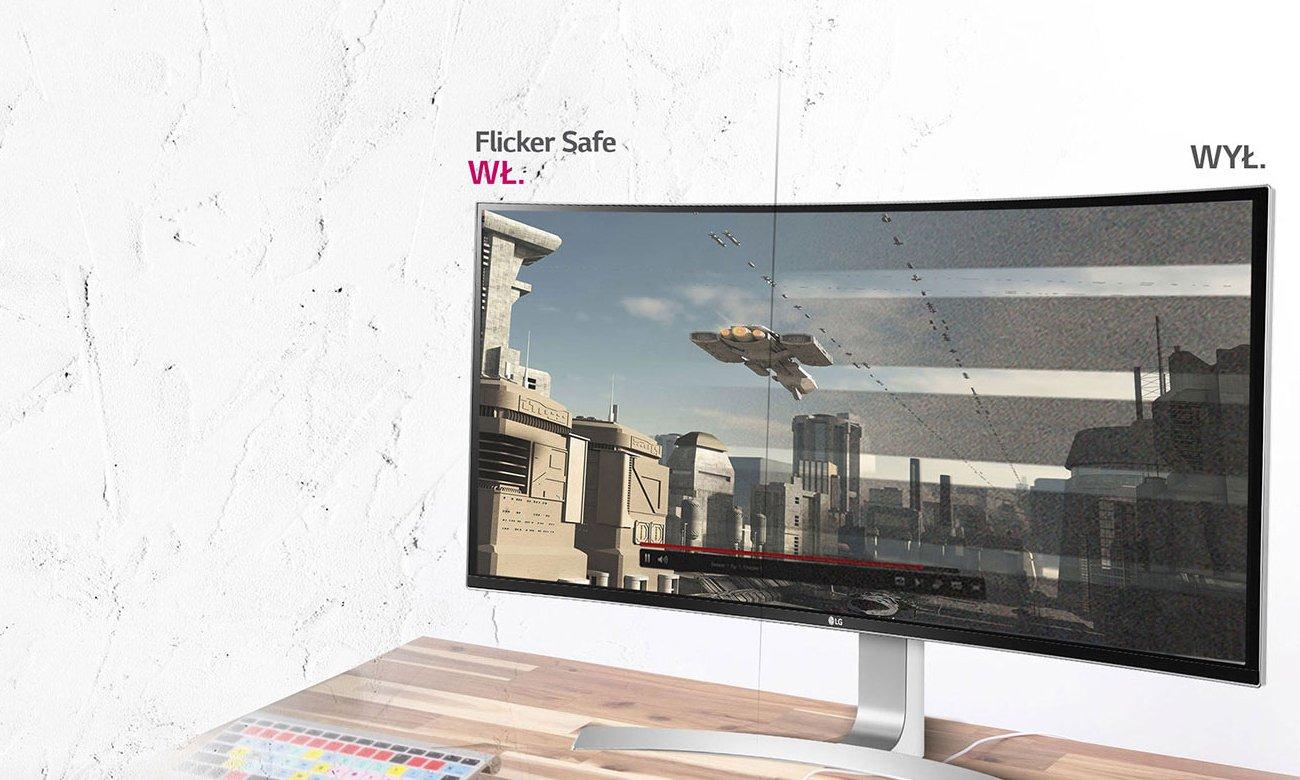 LG 34UC99-W Flicker Safe